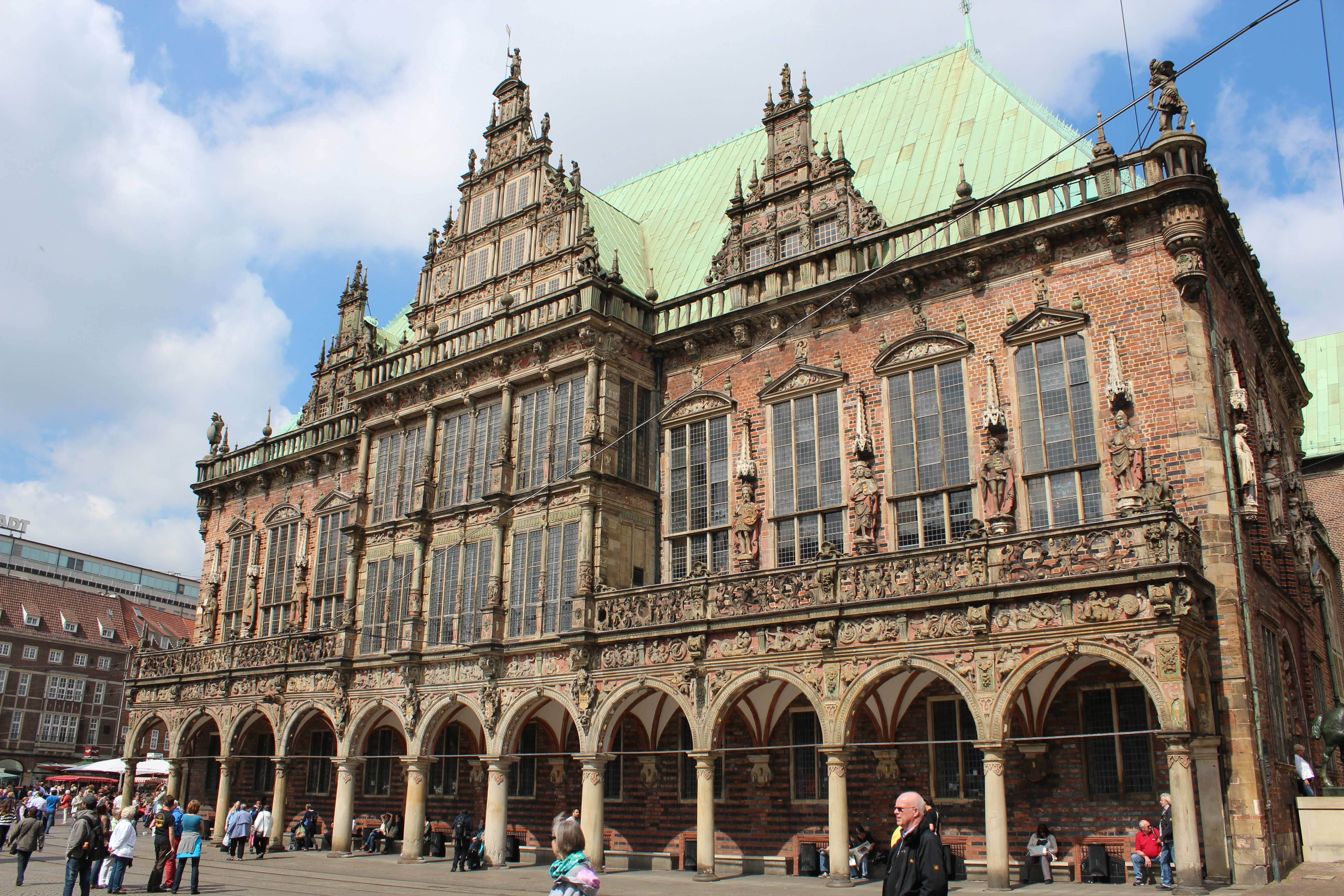 bremen rathaus prefeitura viagem hamburgo