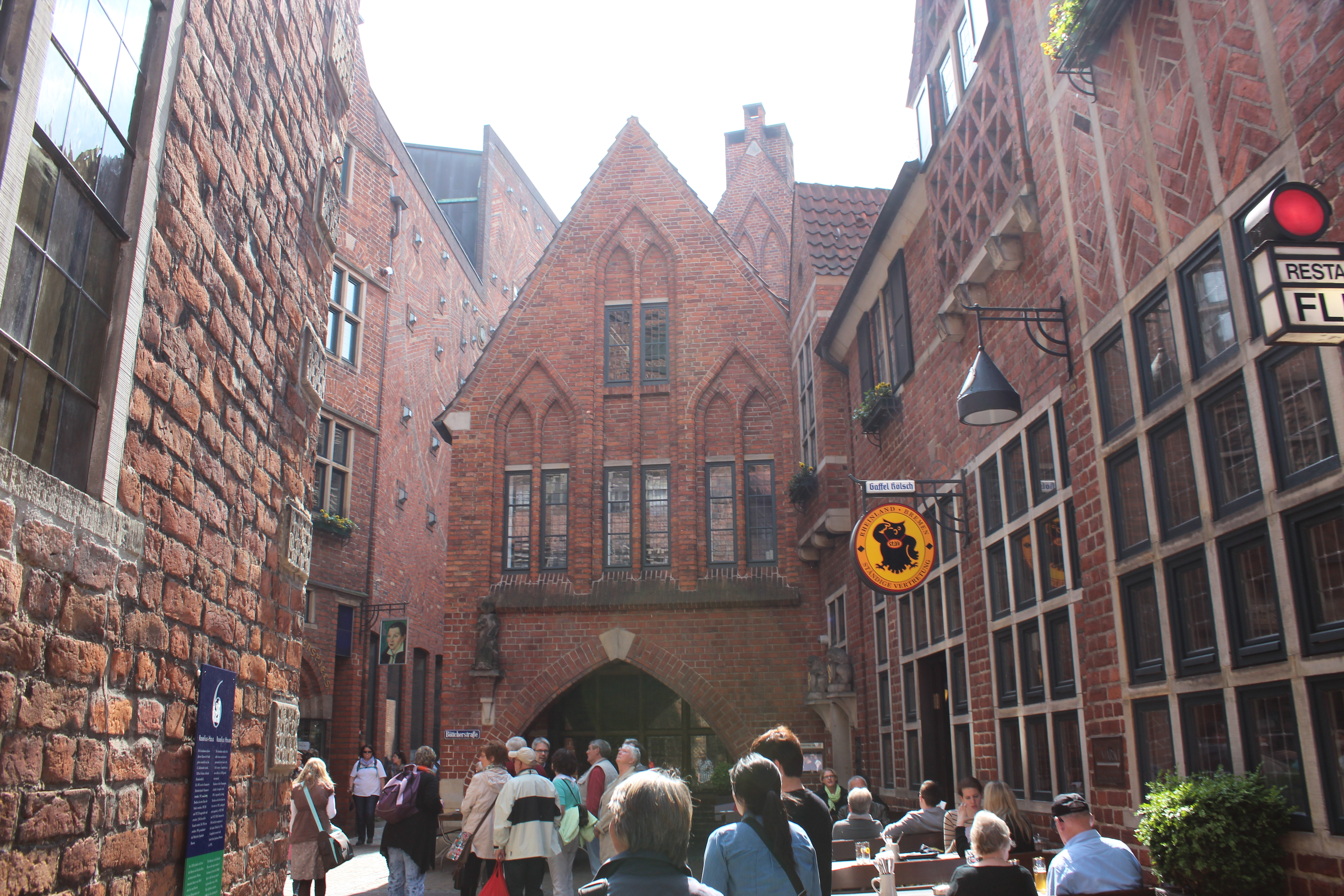 bremen Alemanha böttcherstrasse turismo