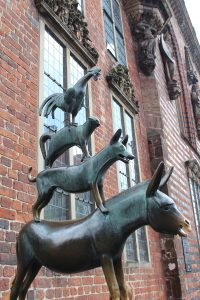 músicos Bremen viagem hamburgo