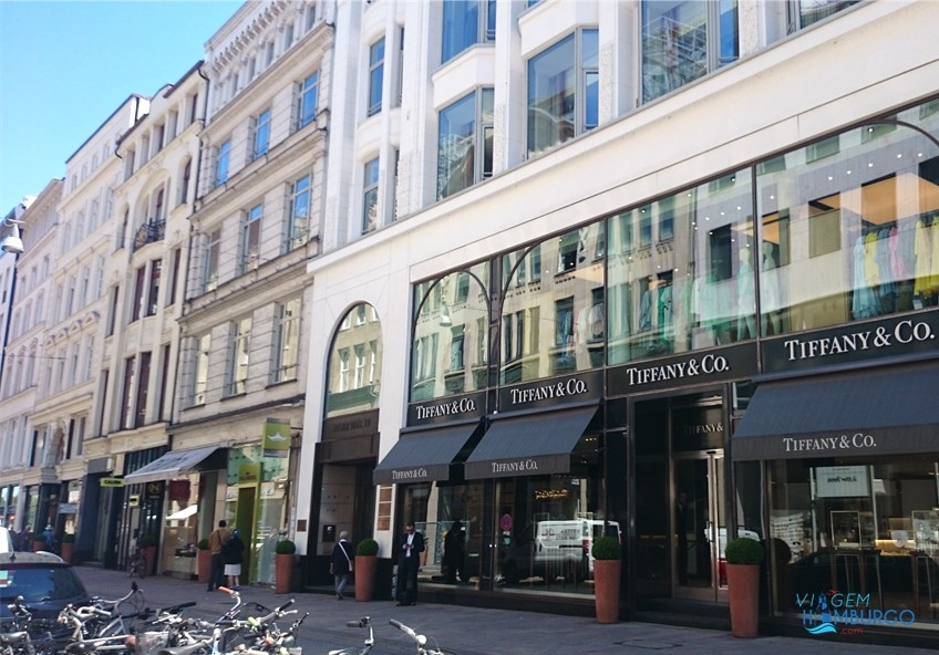 neuwer wall hamburgo lojas compras luxo alemanha