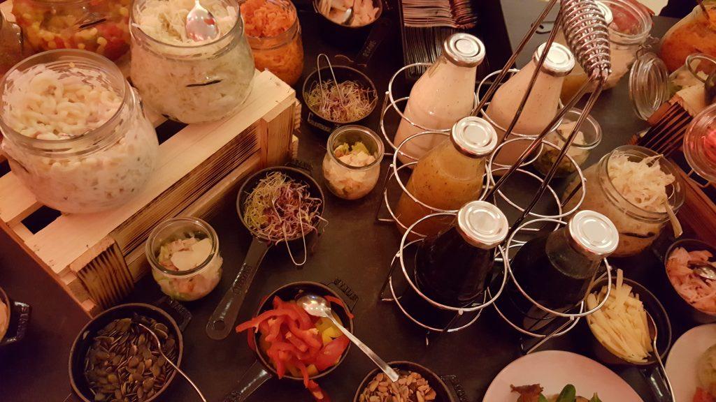 Detalhes do nosso jantar no Hotel Scandic Berlin Potsdamer Platz